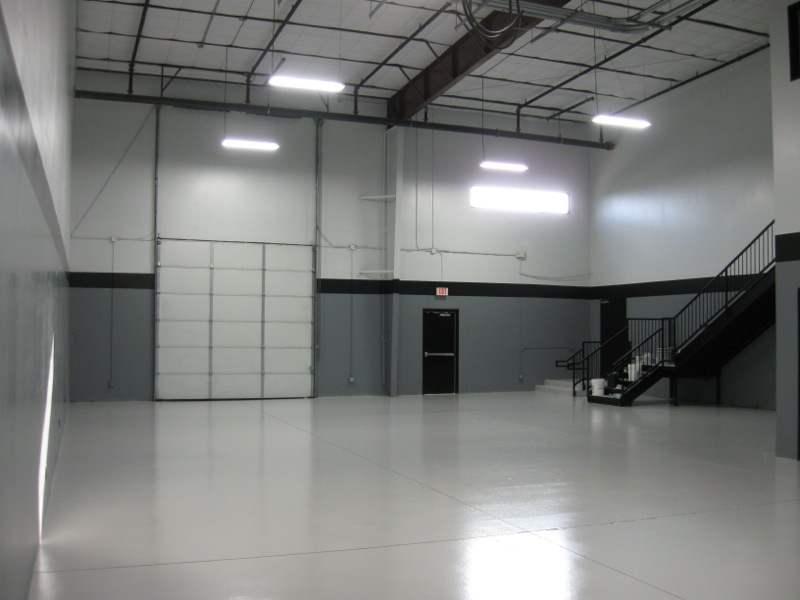 garage floor for commercial