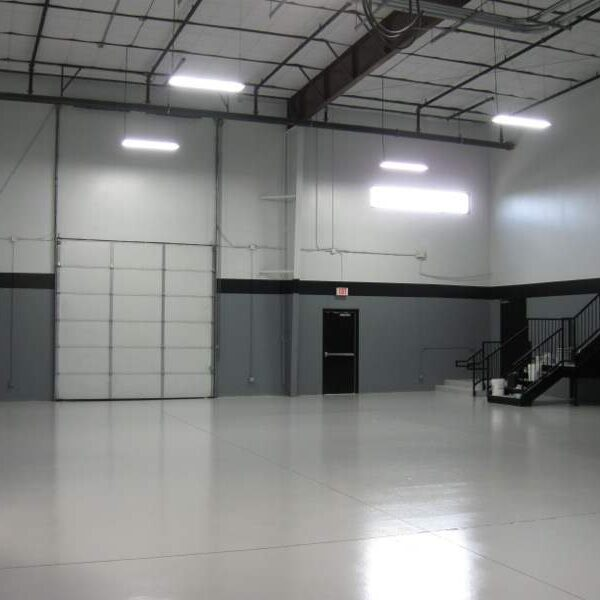 garage floor for commercial