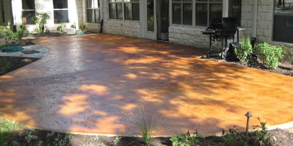 new braunfels stained concrete patio