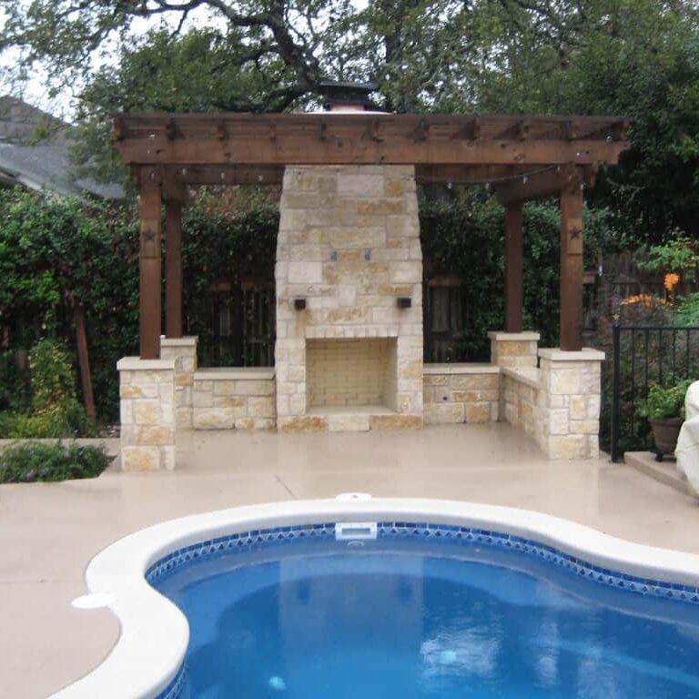 pool deck installation new braunfels