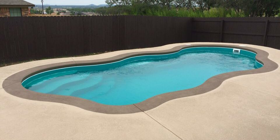 pool surround installation new braunfels