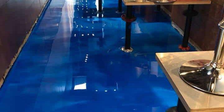 restaurant epoxy floors