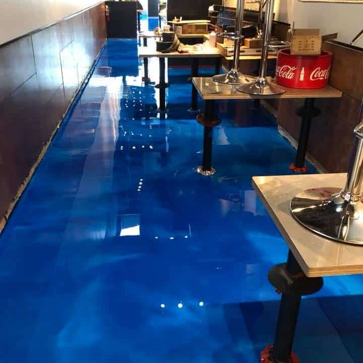 restaurant epoxy floors