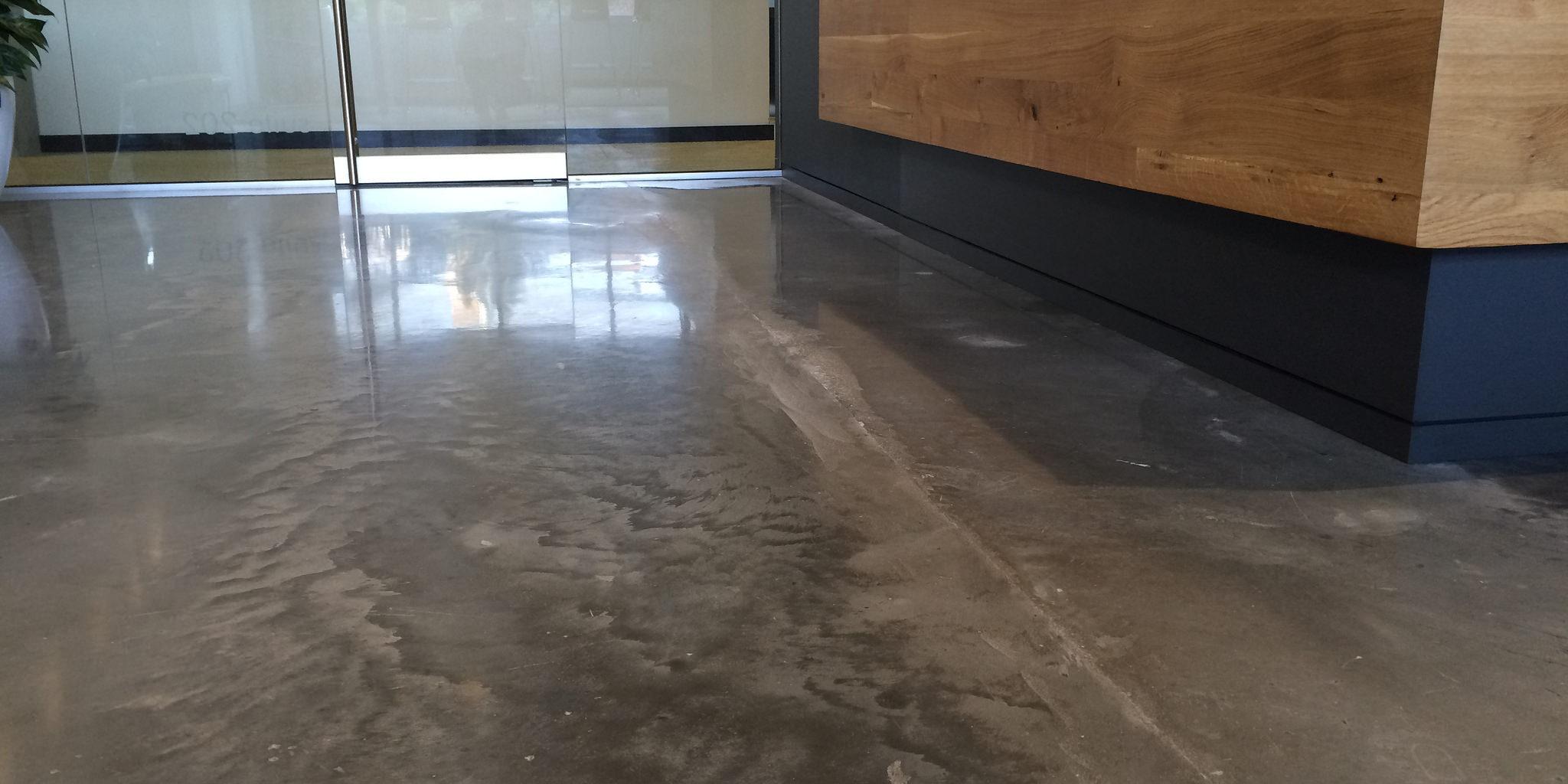 semi-gloss concrete